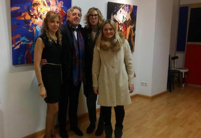 La Galería Cinabrio expone la obra «Cromático» de Andrés Sandoval