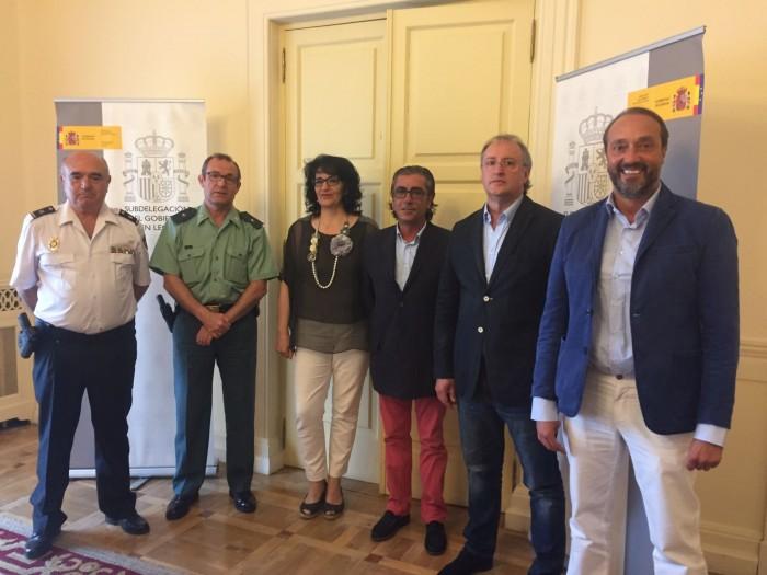Aerprol, CEL y Subdelegación del Gobierno buscan soluciones para combatir los robos