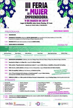 La 3ª Feria de la Mujer Emprendedora llenará de actividades El Palacín el sábado, 9 de marzo