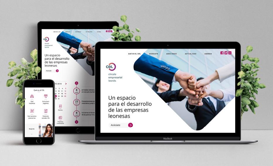 Presentación renovación página web del CEL