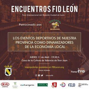 El presidente del CEL participa en el Encuentro FID León en Valencia de Don Juan