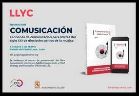 Conferencia y presentación del libro: Comusicación, por Adolfo Corujo (LLYC)