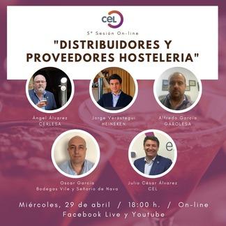 5ª Jornada Online: Empresas distribuidoras y proveedoras de productos y servicios a la hostelería
