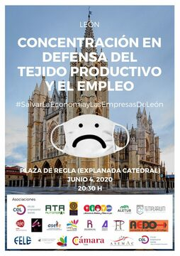 Concentraciones en León y Ponferrada en Defensa del Tejido Productivo y del Empleo