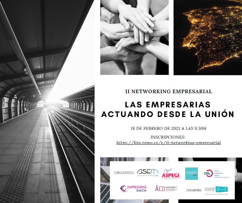 2ª edición Networking: las empresarias actuando desde la unión