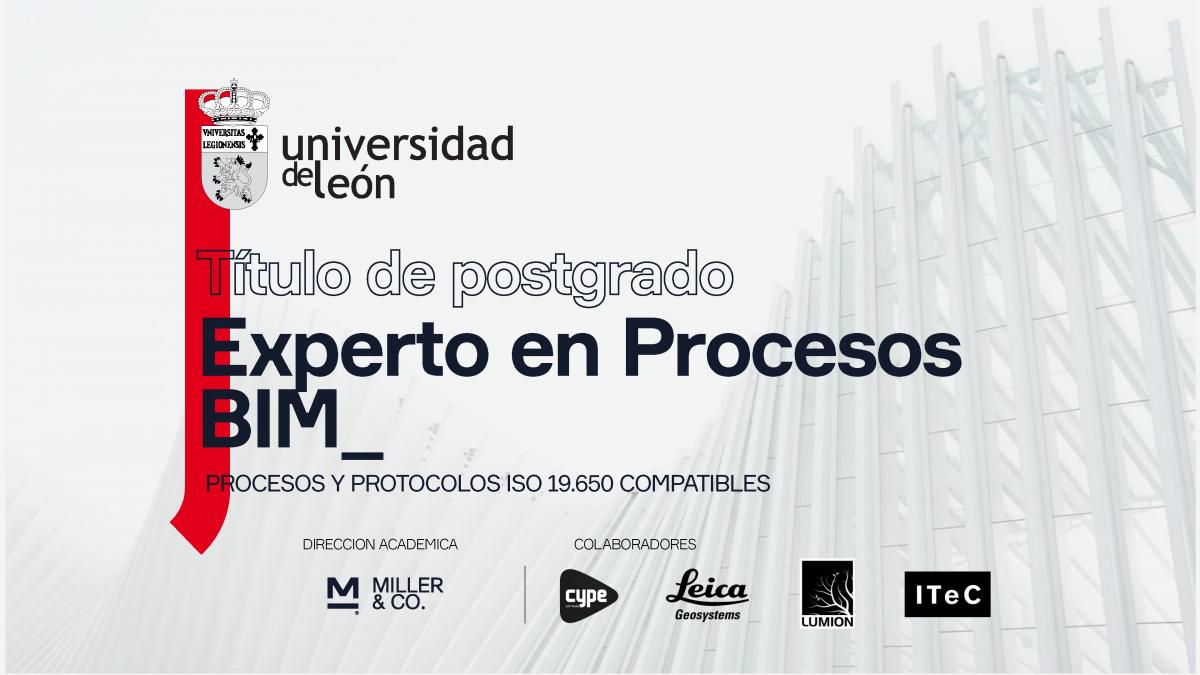 Arranca el Postgrado Experto en Procesos BIM con una sesión informativa gratuita
