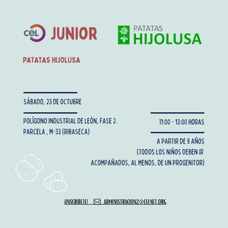 Visita de CEL Júnior a Patatas Hijolusa