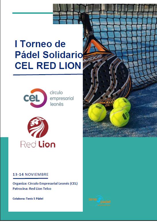 I Torneo de Pádel solidario CEL – Red Lion